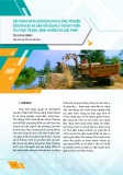 Xây dựng nông thôn mới chủ động thích ứng với biến đổi khí hậu và gắn với quản lý rủi ro thiên tai: Thực trạng, định hướng và giải pháp