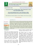 Assessment of unit level patient safety culture dimensions in Tanta university hospitals, Egypt