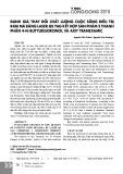 Đánh giá thay đổi chất lượng cuộc sống điều trị rám má bằng Laser QS YAG kết hợp sản phẩm 2 thành phần 4-N-butylresorcinol và axit tranexamic