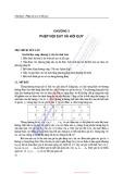Bài giảng Phương pháp số - Chương 3: Phép nội suy và hồi quy