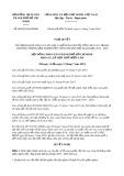 Nghị quyết số 08/2019/HĐND tp HồChíMinh