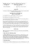 Nghị quyết số 01/2019/HĐND tỉnh BạcLiêu