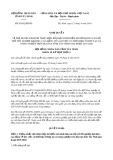 Nghị quyết số 03/2019/HĐND tỉnh TâyNinh