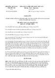 Nghị quyết số 02/2019/HĐND tỉnh BếnTre