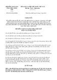 Nghị quyết số 08/2019/HĐND tỉnh ThừaThiênHuế