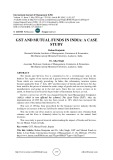 GST and mutual funds in India: a case study
