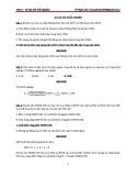 40 câu hỏi trắc nghiệm môn Kinh tế vĩ mô