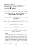 Financial, economic and sustainable development of states within the  conditions of industry 4.0
