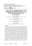 Practice of administrative and territorial reform in the Eu and Ukraine: regulatory and  management