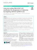 Long non-coding RNA AFAP1-AS1 accelerates the progression of melanoma by targeting miR-653-5p/RAI14 axis