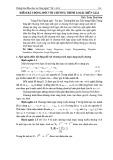 Điểm bất động đối với chương trình logic diễn giải