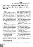 Thực trạng và kiến thức của điều dưỡng viên về tiêm an toàn tại Bệnh viện Đa khoa huyện Vũ Thư năm 2018