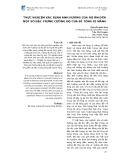 Thực nghiệm xác định ảnh hưởng của độ ẩm đến một số đặc trưng cường độ của bê tông xi măng