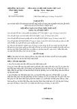 Nghị quyết 18/2019/NQ-HĐND tỉnh ThừaThiênHuế