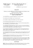 Nghị quyết số 15/2019/NQ-HĐND tỉnh CaoBằng