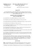 Nghị quyết số 28/2019/NQ-HĐND tỉnh HậuGiang