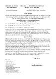 Nghị quyết số 26/2019/NQ-HĐND tỉnh HảiDương