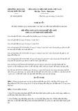 Nghị quyết số 40/2019/NQ-HĐND tp CầnThơ