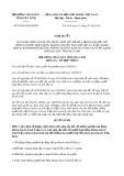 Nghị quyết số 93/2019/NQ-HĐND tỉnh TràVinh