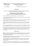 Nghị quyết số 46/2019/NQ-HĐND tỉnh NamĐịnh