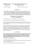 Nghị quyết số 94/2019/NQ-HĐND tỉnh TràVinh