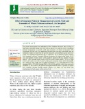 Effect of integrated nutrient management on growth, yield and economics of wheat (Triticum aestivum L.) in inceptisol