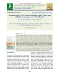 Association study of grain yield and nutritional quality traits in pearl millet [Pennisetum glaucum (L.) R. Br.] hybrids