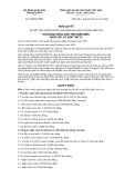 Nghị quyết số 133/2019/NQ-HĐND tỉnh Điện Biên