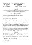 Nghị quyết số 291/2019/NQ-HĐND tỉnh ĐồngTháp