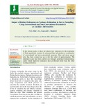 Impact of robust estimators on variance estimation in survey sampling, using conventional and non-conventional parameters as auxiliary information
