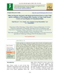 Effect of organic, inorganic and integrated nutrient sources on the yield and its attributes of two Basmati rice varieties Viz Type-3 and taraori grown in Tarai regions of Uttarakhand India