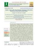 Adoption analyses of Bt cotton production technologies by bhoochetana beneficiaries in hyderabad Karnataka region