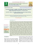Assessment of genetic variability, heritability and genetic advance in Indian mustard [Brassica juncea L. Czern & Coss.]