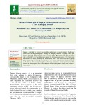 Status of black spot of papaya (Asperisporium caricae): A new emerging disease