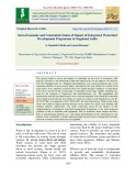 Socio-economic and constraints status of impact of integrated watershed development programme in Nagaland, India