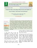 Comparative study on knowledge of rural women about health care