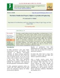 The role of intellectual property rights in agricultural engineering