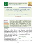 Effect of chemical weed management practices in ginger (Zingiber officinale Rosc.) under different inter-cropping systems with cowpea