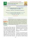 Socio-economic status of farmers in Raisen district of Madhya Pradesh: A case study