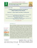 Evaluation of physical and chemical composition of mango varieties for Nectar and Pana