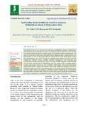 Soil fertility status of different land use system in Chikhaldhara tahasil of Maharashtra state