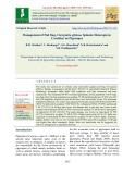 Management of pod bug, Clavigralla gibbosa Spinola (Heteroptera: Coreidae) on pigeonpea