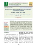 Impact assessment of farm ponds on beneficiaries and non-beneficiary farmers for gram cultivation