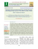 Exploring the entrepreneurial environment for agricultural processors and developing strategy to promote value addition via Alfares' method