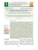 Analysis of somaclonal variation using molecular markers in in vitro regenerated chrysanthemum cv. Pusa centenary