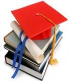 Luận án Tiến sĩ Y khoa: Thực trạng ứng dụng thống kê trong các luận văn thạc sĩ và bác sĩ nội trú Trường Đại học Y Hà Nội và kết quả một số giải pháp can thiệp