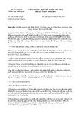 Công văn số 5302/TCHQ-GSQL