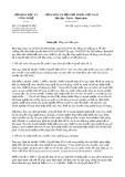 Công văn số 2115/BKHCN-ĐTG