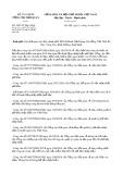 Công văn số 3907/TCHQ-GSQL