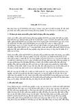 Công văn số 905/UBDT-CSDT